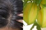 Chỉ với 1 quả khế chua, tóc bạc trắng cả đầu bỗng đen mượt trở lại sau 1 tháng