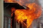 Cháy nhà, 3 anh em một tử vong, 2 bỏng nặng