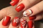 15 mẫu nail đẹp lung linh cho mùa Giáng Sinh