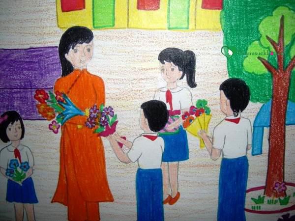 Cảm nghĩ về ngày Nhà giáo Việt Nam 20/11 - Ảnh 1