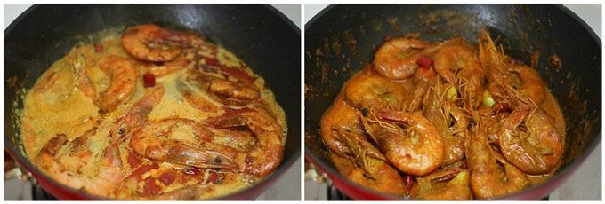 Thơm lừng khó cưỡng món tôm nấu cà ri - Ảnh 4