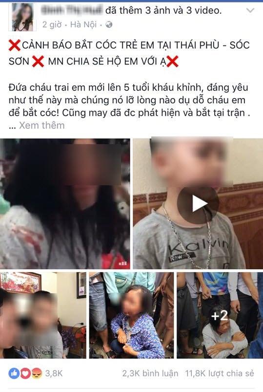Tung tin máy bay rơi ở Nội Bài, bịa chuyện bắt cóc trẻ em: Để câu like nhằm bán hàng online, việc gì giới trẻ cũng dám làm - Ảnh 2