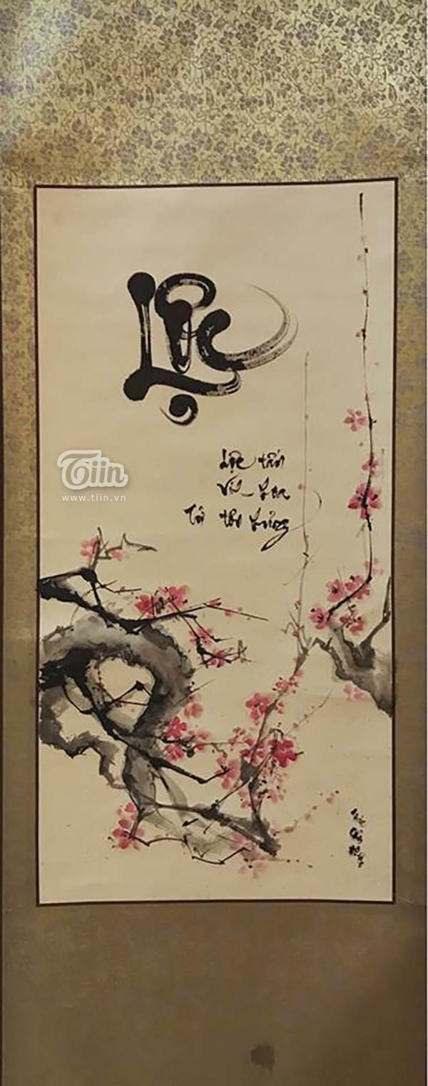 Xuất hiện cô đồ xinh xắn, cho chữ thư pháp tại Bắc Giang - Ảnh 4