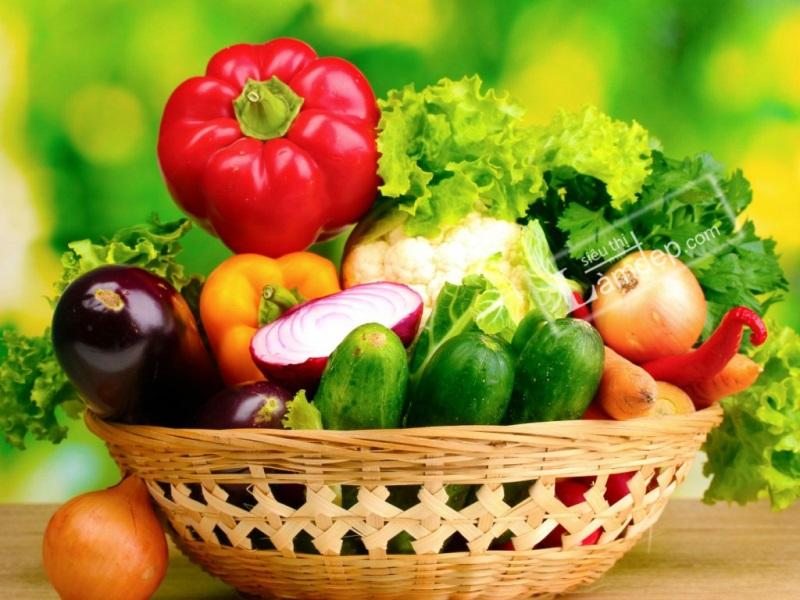 Ngày 2 cần ăn nhiều rau củ tươi
