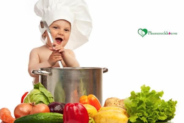 Chế độ dinh dưỡng cho trẻ 1 tuổi cân bằng và hợp lý - Ảnh 1