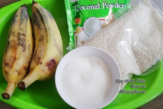 Mát trời trổ tài làm chè chuối nước cốt dừa - Ảnh 1