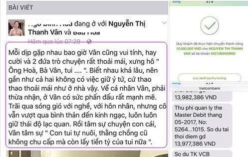 Toát mồ hôi với hành động của chồng cũ Phi Thanh Vân khi bị tố vô trách nhiệm với con, lấy tiền tỷ của vợ  - Ảnh 2