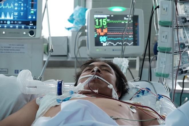 Chồng đột ngột nguy kịch vì bệnh tim, vợ đang mang thai 5 tháng khóc ngất: 'Anh ấy phải về để đặt tên cho con...' - Ảnh 2