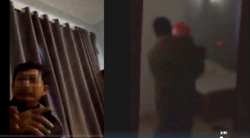 Chủ tịch xã lộ clip 'nóng' trong nhà nghỉ: 'Buồn bụng' quá nên mới rẽ vào - Ảnh 1