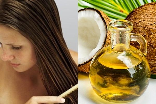 Ủ tóc với dầu dừa trị rụng tóc hiệu quả