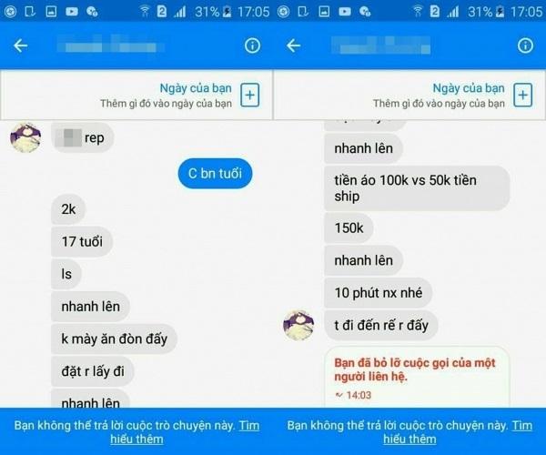 Cô gái 10x bán hàng online tự đặt, tự gửi rồi dọa khách nhận đồ - Ảnh 6