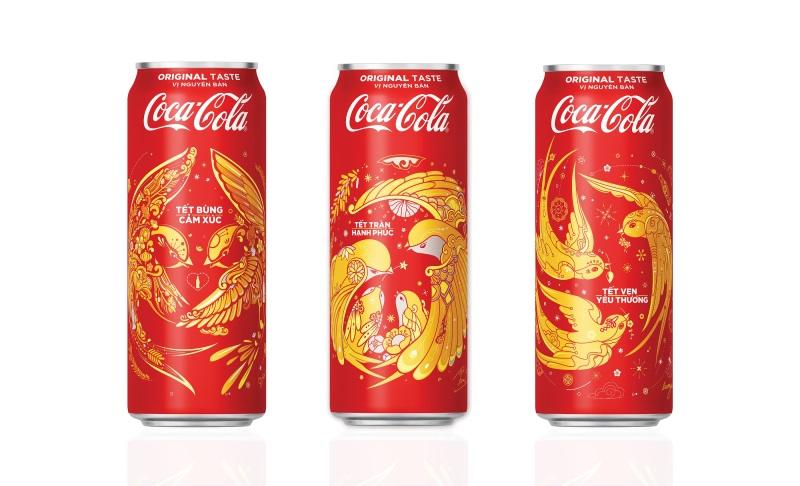 Hợp tác với các họa sĩ trẻ đương đại, Coca-Cola tung 3 mẫu bao bì độc đáo chào đón Tết 2018 - Ảnh 1