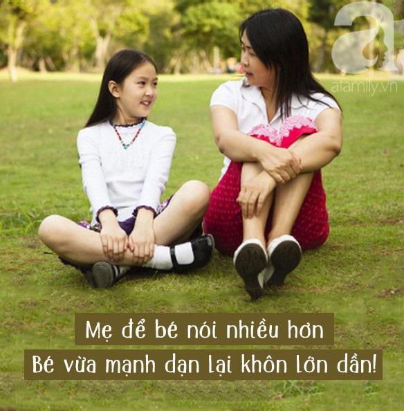 Nếu mẹ muốn con tự tin trong giao tiếp, sớm tự lập thì đừng quên 13 điều cần làm mỗi ngày này nhé - Ảnh 1