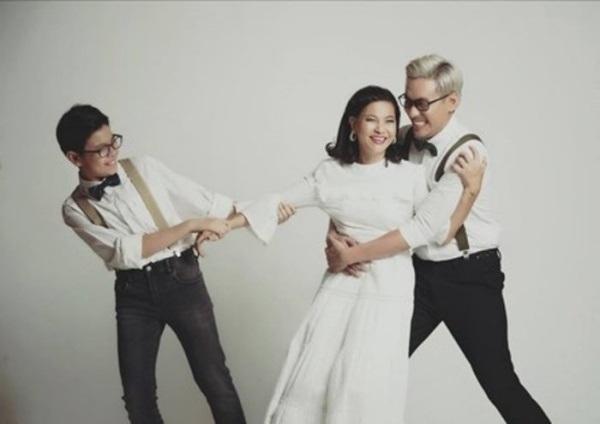 Những sao Việt thân thiết với con riêng của bạn gái như con đẻ - Ảnh 3