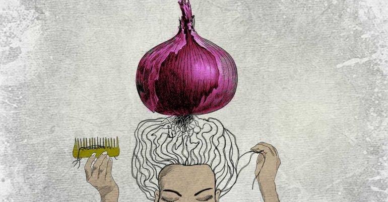 Công dụng giảm rụng tóc của hành tây - Ảnh 2