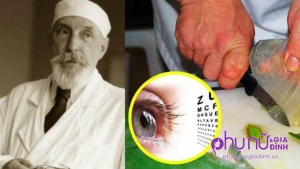 Vứt cặp kính đi, đây là công thức thần kỳ của bác sĩ Nga giúp phục hồi thị lực thần tốc - Ảnh 1