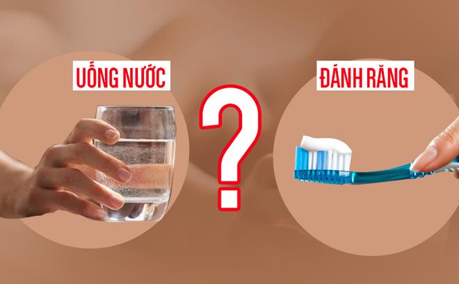 Cốc nước đầu tiên vào buổi sáng rất quan trọng, nhưng uống trước hay sau khi đánh răng lại quyết định hiệu quả rất khác biệt - Ảnh 2