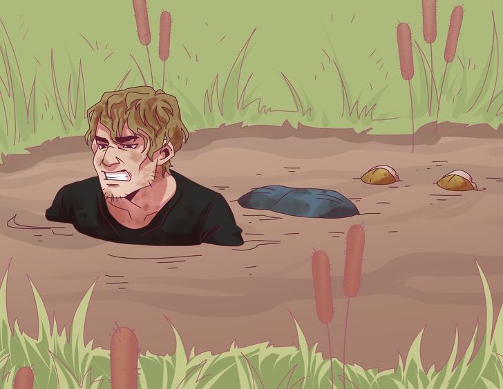 Cách sống sót nếu bạn bị trói cả tay chân và ném xuống nước - Ảnh 3