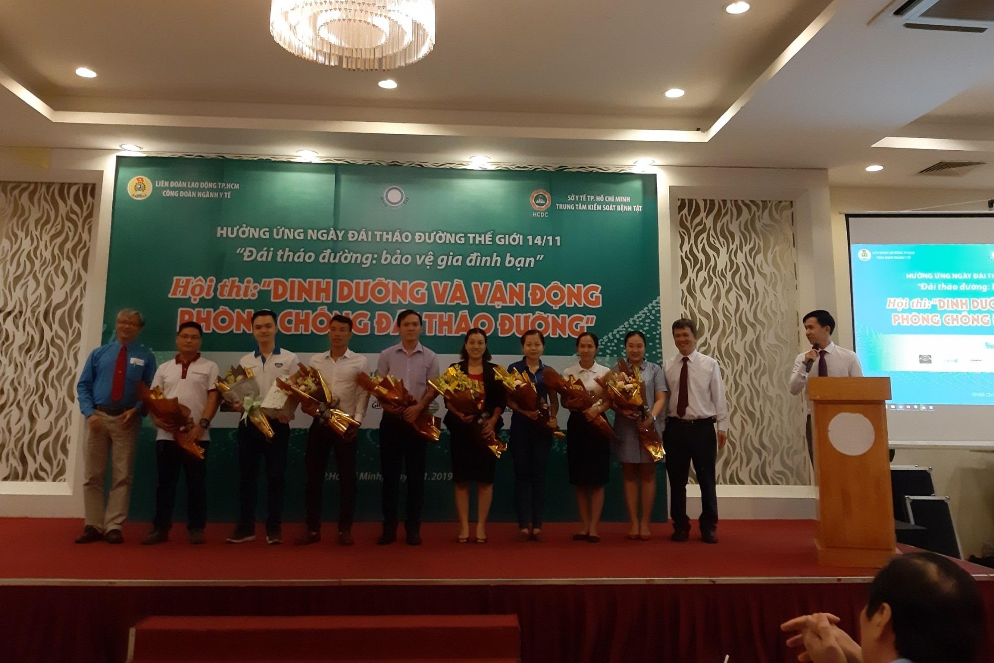 Cán bộ Y tế TP.HCM tham gia hưởng ứng ngày Đái tháo đường thế giới 14/11 - Ảnh 1