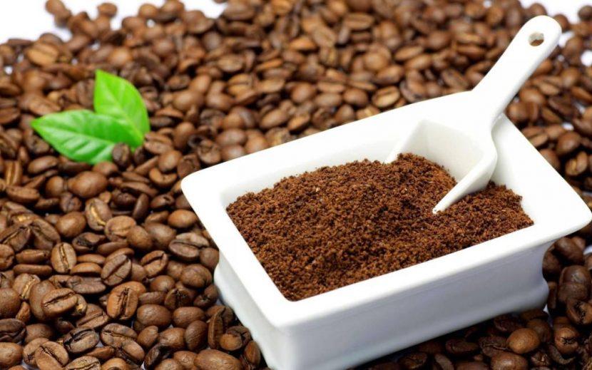 Dùng bã cà phê đúng cách sẽ giúp trị rụng tóc hiệu quả