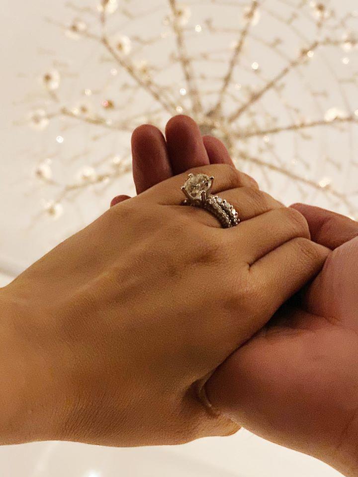 Xuân Lan bất ngờ khoe nhẫn cầu hôn, tìm được ý trung nhân sau tình trường ngập nước mắt - Ảnh 1
