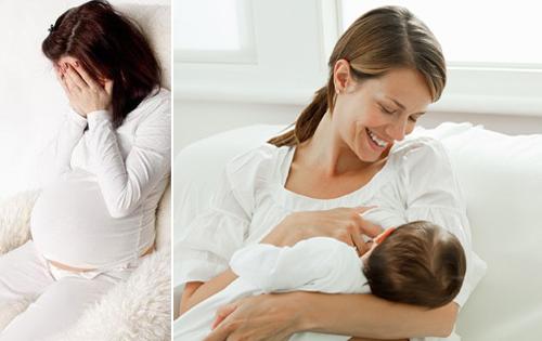 Đãng trí sau sinh- Nỗi khổ của các bà mẹ bỉm sữa - Ảnh 1
