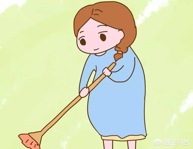 Mẹ bầu có thể làm vài việc nhà đơn giản nhưng nên vừa sức và chọn dụng cụ thích hợp
