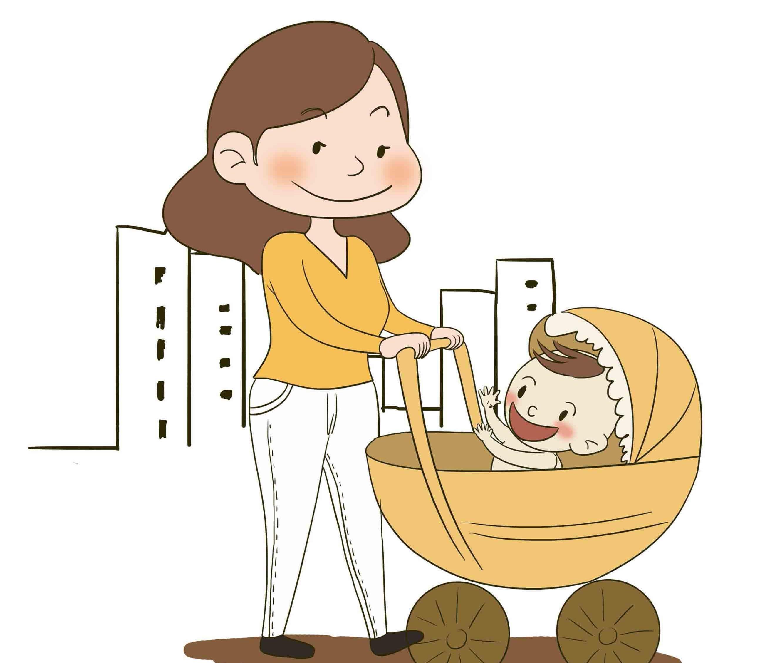 Bố mẹ không nên cho trẻ ngồi xe đẩy quá sớm