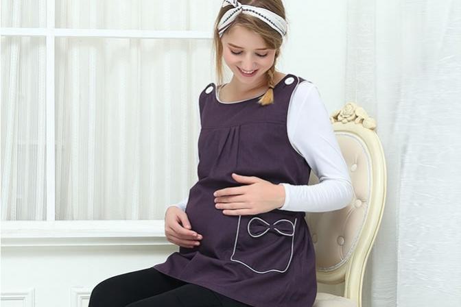 Ở một mức độ nhất định thì đồ chống bức xạ có tác dụng tốt cho bà bầu