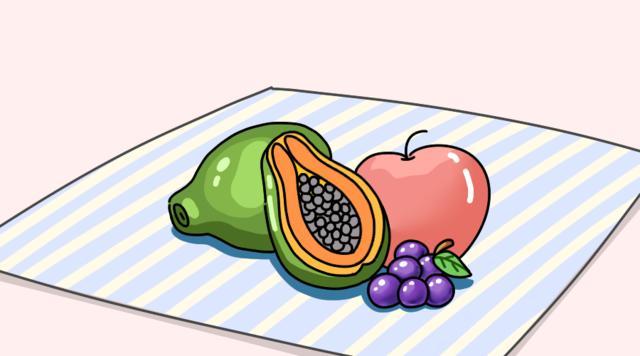 Trái cây là món ăn vặt khỏe mạnh và tốt cho hệ tiêu hóa của trẻ