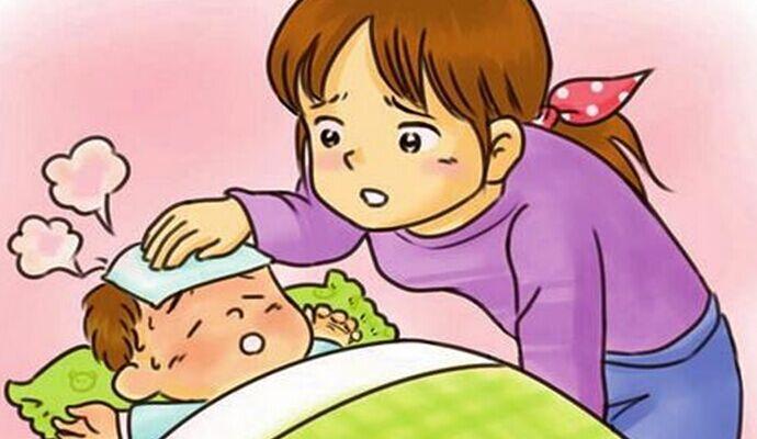 Tỳ vị hư khiến trẻ dễ bị bệnh, đặc biệt là cảm sốt