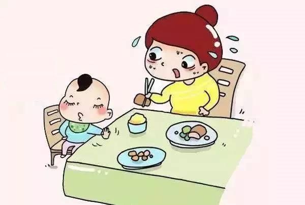 Tiêu hóa kém khiến trẻ mất cảm giác ngon miệng và trở nên biếng ăn