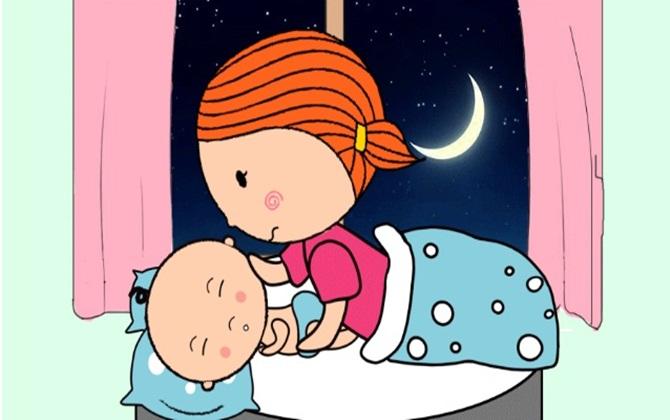 Ánh sáng và tiếng ồn là hai nhân tố ảnh hưởng giấc ngủ của bé