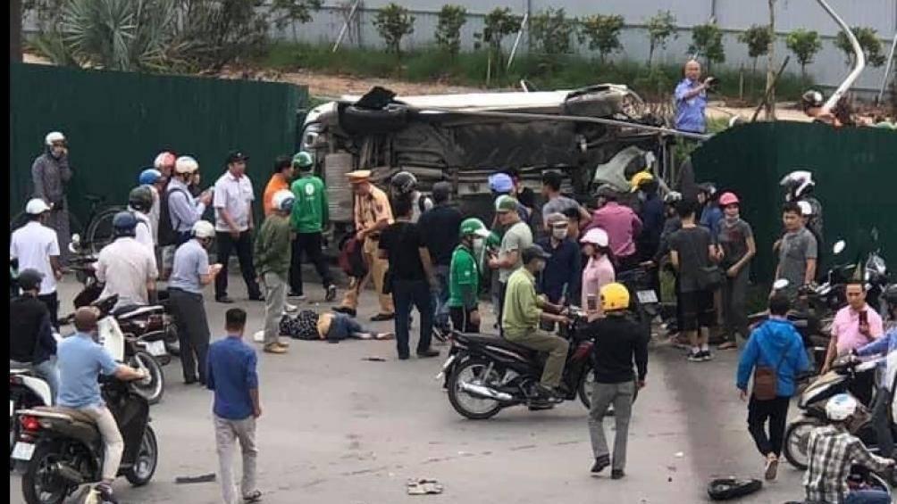 Nữ tài xế xe Mercedes gây tai nạn liên hoàn ở Cầu Giấy đối mặt với mức phạt nào? - Ảnh 2