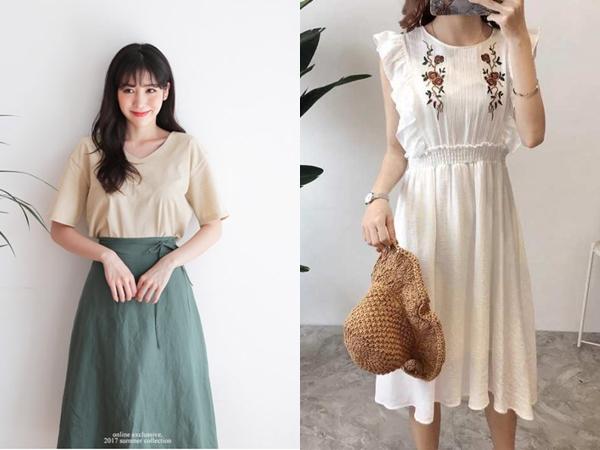 Khi diện váy vải linen lên mình, vẻ ngoài của bạn trông sẽ cực kỳ nữ tính và thanh lịch