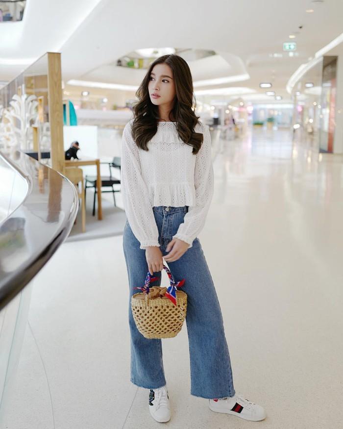 Cách phối đồ với quần culottes ngắn, chuẩn xu hướng thời trang đang hot nhất 2019  - Ảnh 9