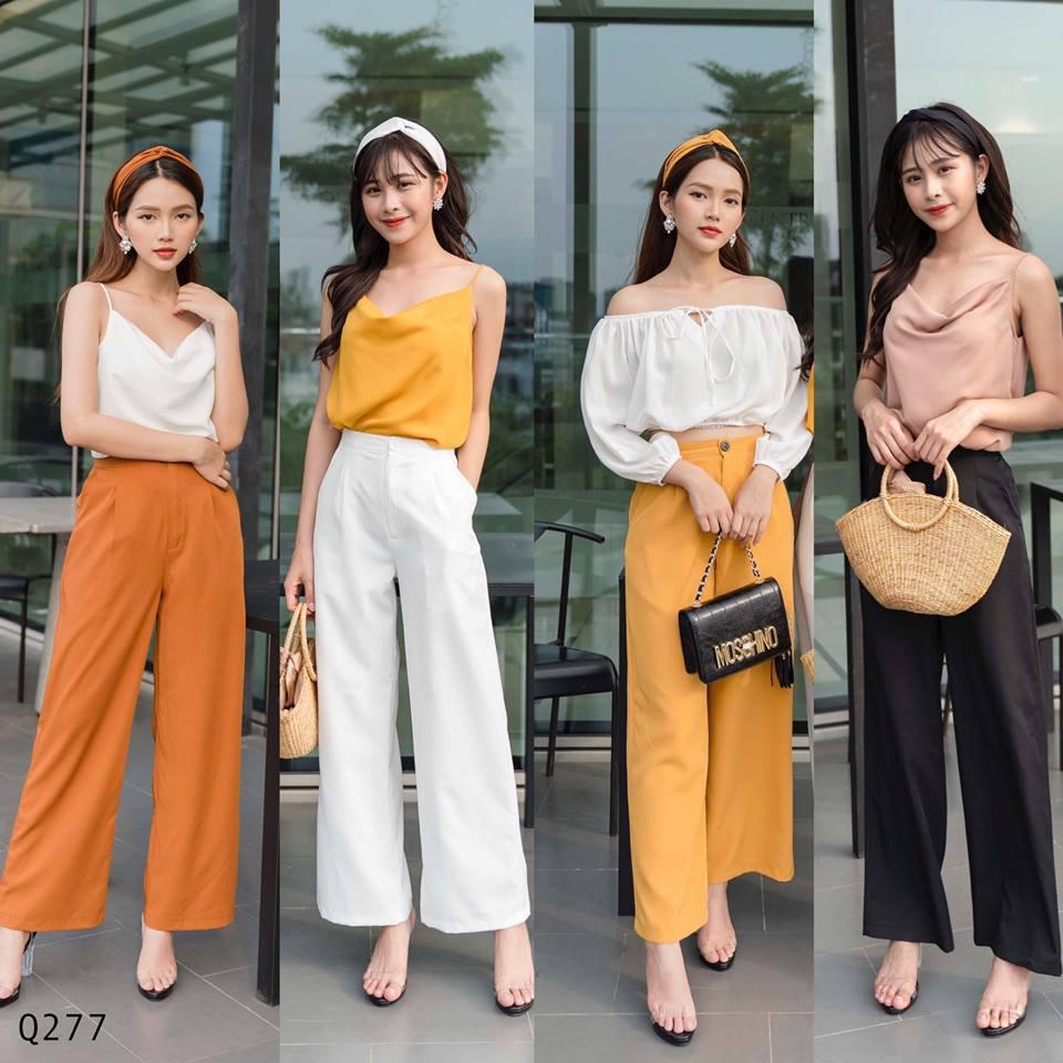 Cách phối đồ với quần culottes ngắn, chuẩn xu hướng thời trang đang hot nhất 2019  - Ảnh 1