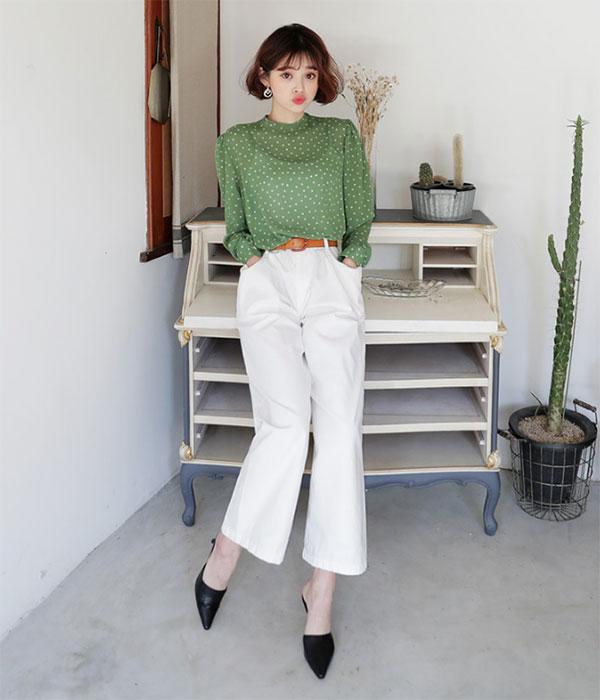 Cách phối đồ với quần culottes ngắn, chuẩn xu hướng thời trang đang hot nhất 2019  - Ảnh 3