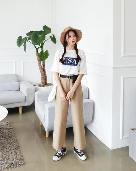 Cách phối đồ với quần culottes ngắn, chuẩn xu hướng thời trang đang hot nhất 2019  - Ảnh 14