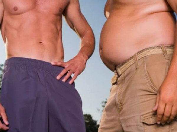 Để đánh giá sức khỏe của một anh chàng nào đó nhiều khi chỉ cần nhìn vào vòng lưng và vòng bụng của họ