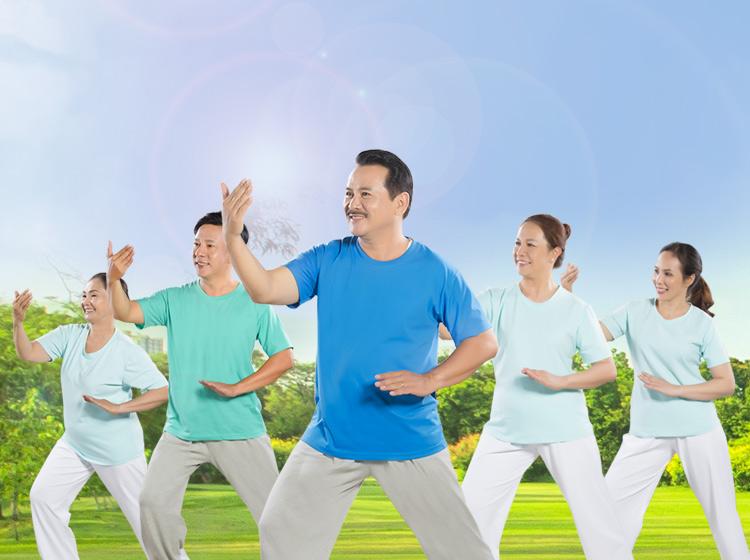 Tập thể dục thường xuyên giúp cơ thể dẻo dai linh hoạt có tác dụng tích cực đến sinh hoạt vợ chồng