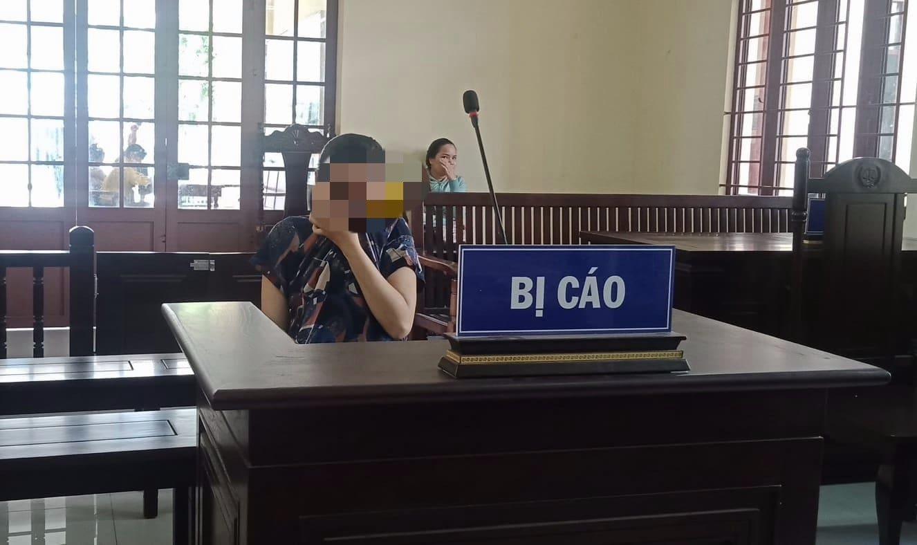 Thai phụ ôm bụng bầu 7 tháng tuổi lĩnh án - Ảnh 1