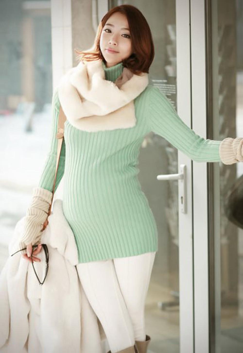 Gợi ý cách phối đồ giúp mẹ bầu tự tin trở thành bà bầu sành điệu mùa đông   - Ảnh 11