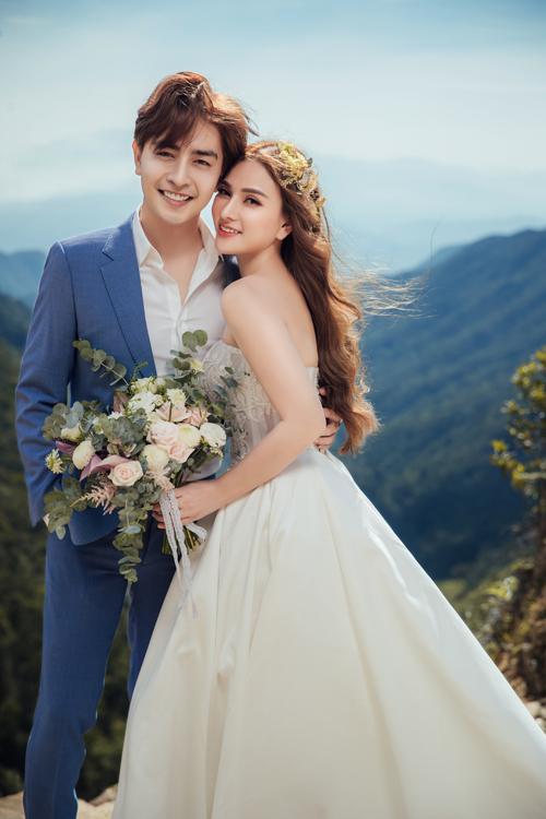 Thu Thủy vừa tung bộ ảnh cưới đẹp như tranh vẽ