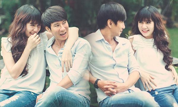 Họgặp nhau lần đầu vào năm 2002, lúc này, Minh Hà chỉ mới 17 tuổi -