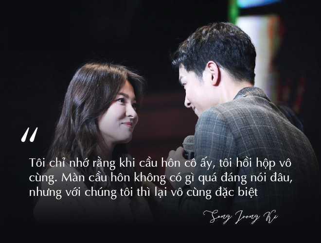 Những câu nói đậm chất ngôn tình của Song Joong Ki và  Song Hye Kyo trước khi ly hôn: Mọi thứ chỉ đẹp khi ở trên phim   - Ảnh 3