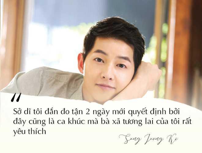 Những câu nói đậm chất ngôn tình của Song Joong Ki và  Song Hye Kyo trước khi ly hôn: Mọi thứ chỉ đẹp khi ở trên phim   - Ảnh 12