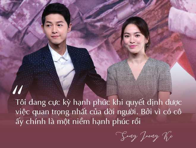 Những câu nói đậm chất ngôn tình của Song Joong Ki và  Song Hye Kyo trước khi ly hôn: Mọi thứ chỉ đẹp khi ở trên phim   - Ảnh 13