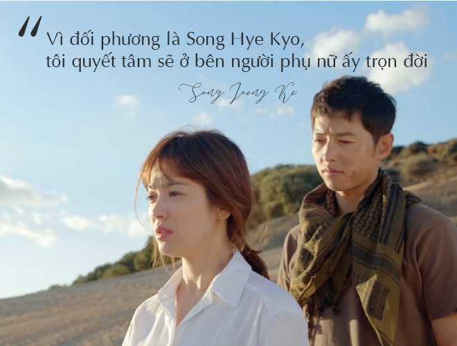 Những câu nói đậm chất ngôn tình của Song Joong Ki và  Song Hye Kyo trước khi ly hôn: Mọi thứ chỉ đẹp khi ở trên phim   - Ảnh 4