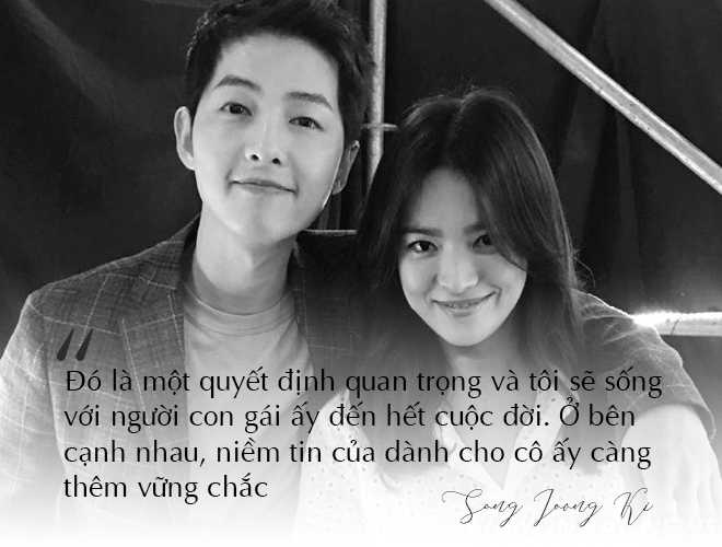 Những câu nói đậm chất ngôn tình của Song Joong Ki và  Song Hye Kyo trước khi ly hôn: Mọi thứ chỉ đẹp khi ở trên phim   - Ảnh 5
